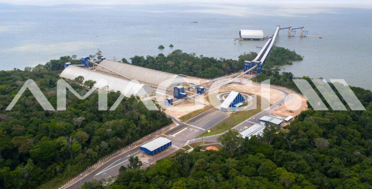 A parceria no corredor Tapajós-Amazonas foi estendida em 2016 aos terminais que integram o corredor logístico, nos municípios de Barcarena (foto a cima) e Miritituba, ambos no Pará.